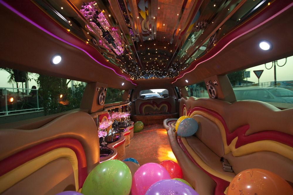 interno-limousine per festa