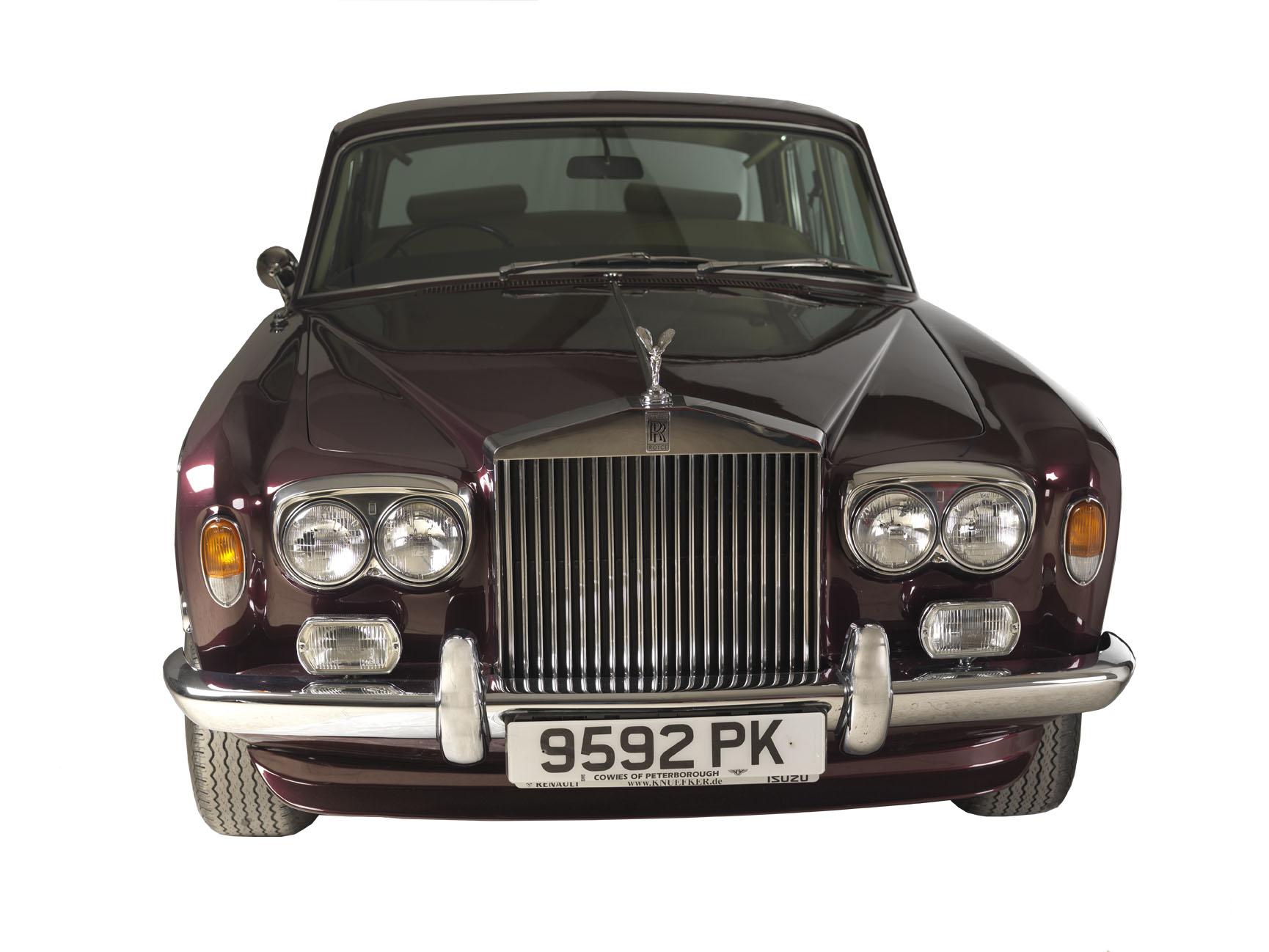 Noleggio Rolls Royce Silver Shadow per giornate