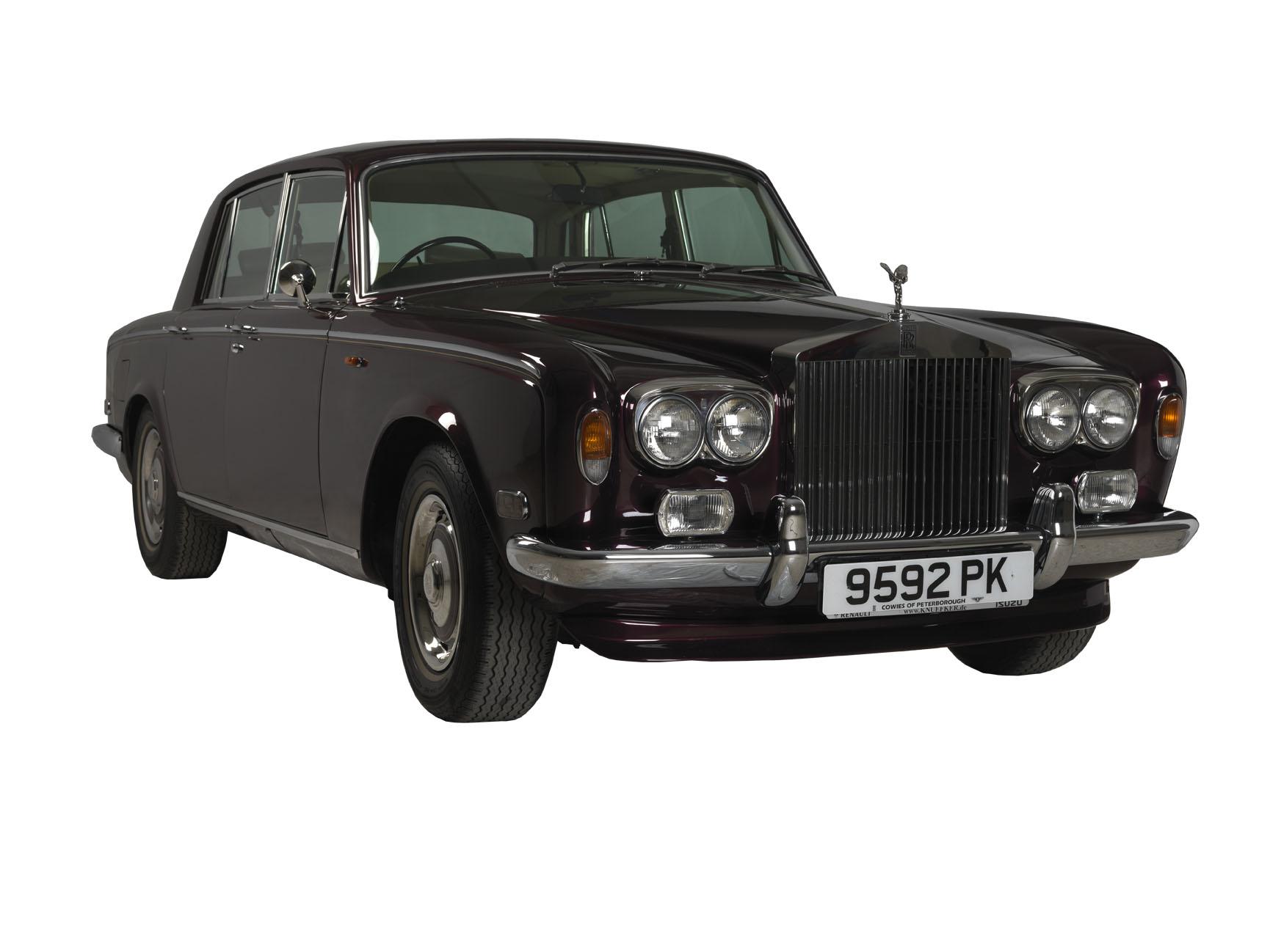 Noleggio Rolls Royce Silver Shadow per eventi